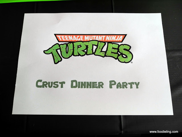Crust Dinner Party Cowabunga Ninja Turtles Foodie Ling