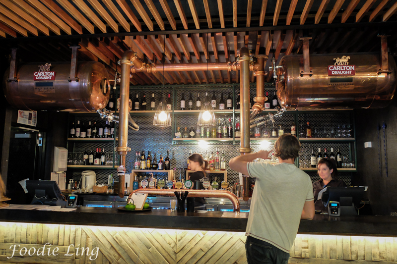 the gully public house and garden a new look foodie ling