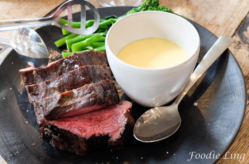 Beef Fillet with Broccolini & Hollandaise