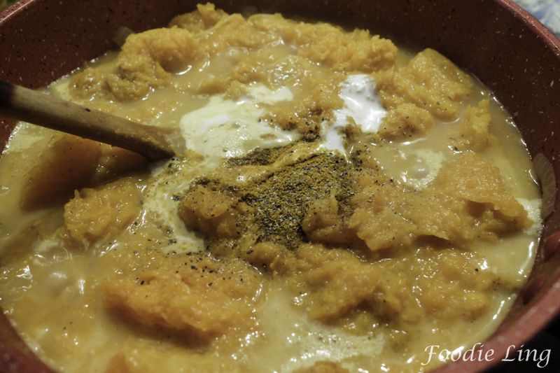 Curried Roasted Pumpkin Soup (4)