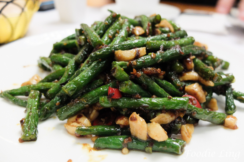 Long Beans with XO Sauce