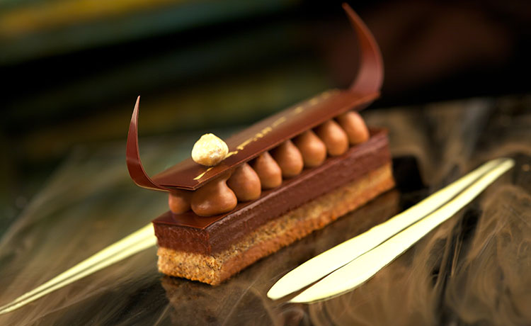 Princes Cruise Hazelnut Bar on chocolate bar